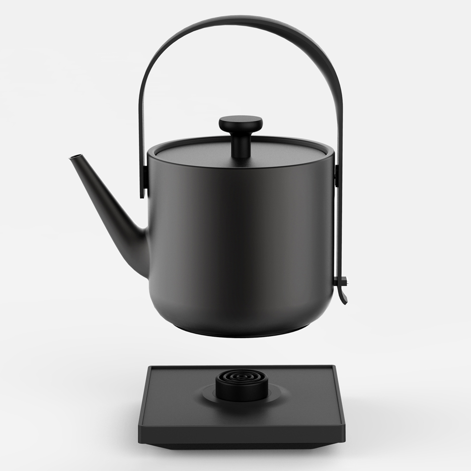 teawith kettle by keren hu is designed for multi room use