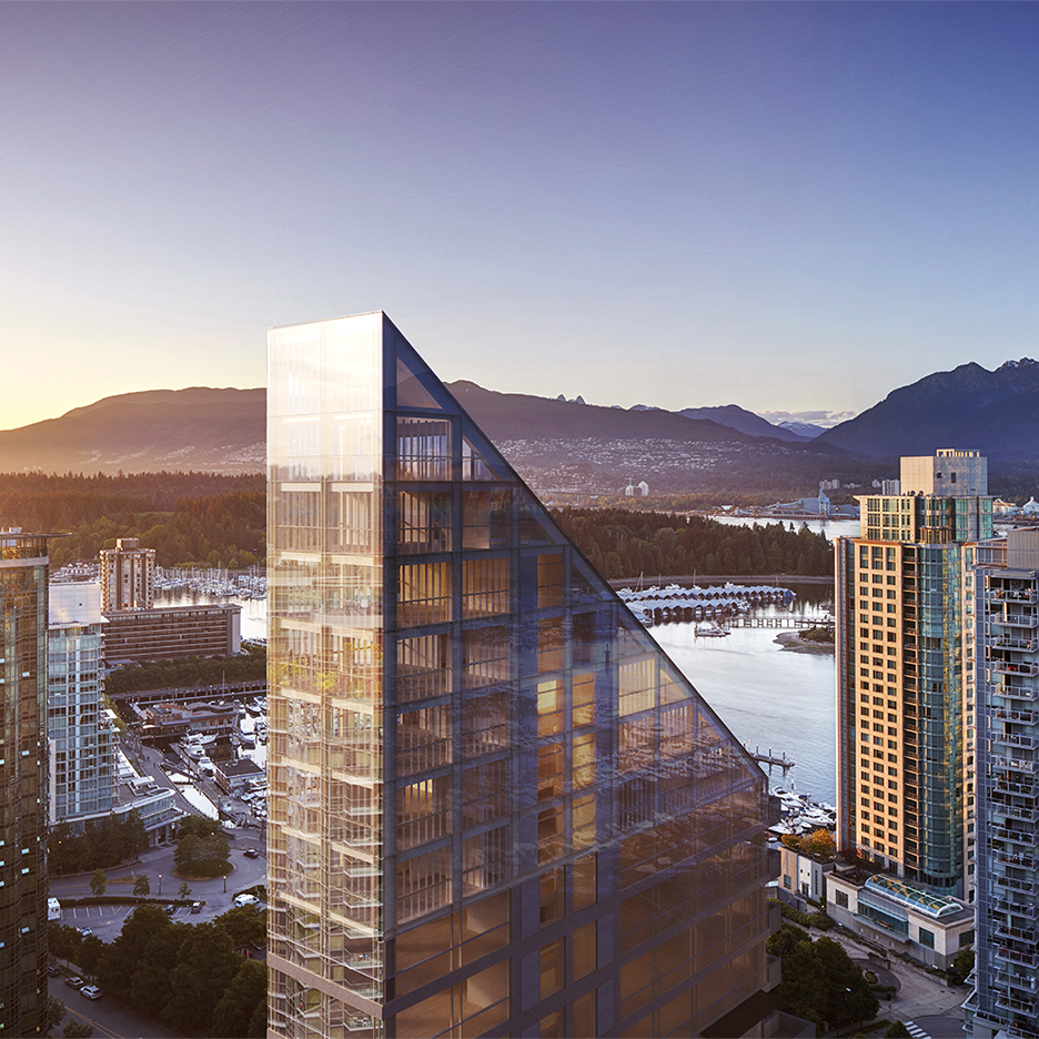 "Shigeru Ban unveils ""tallest hybrid timber structure in the world"" for Vancouver"
