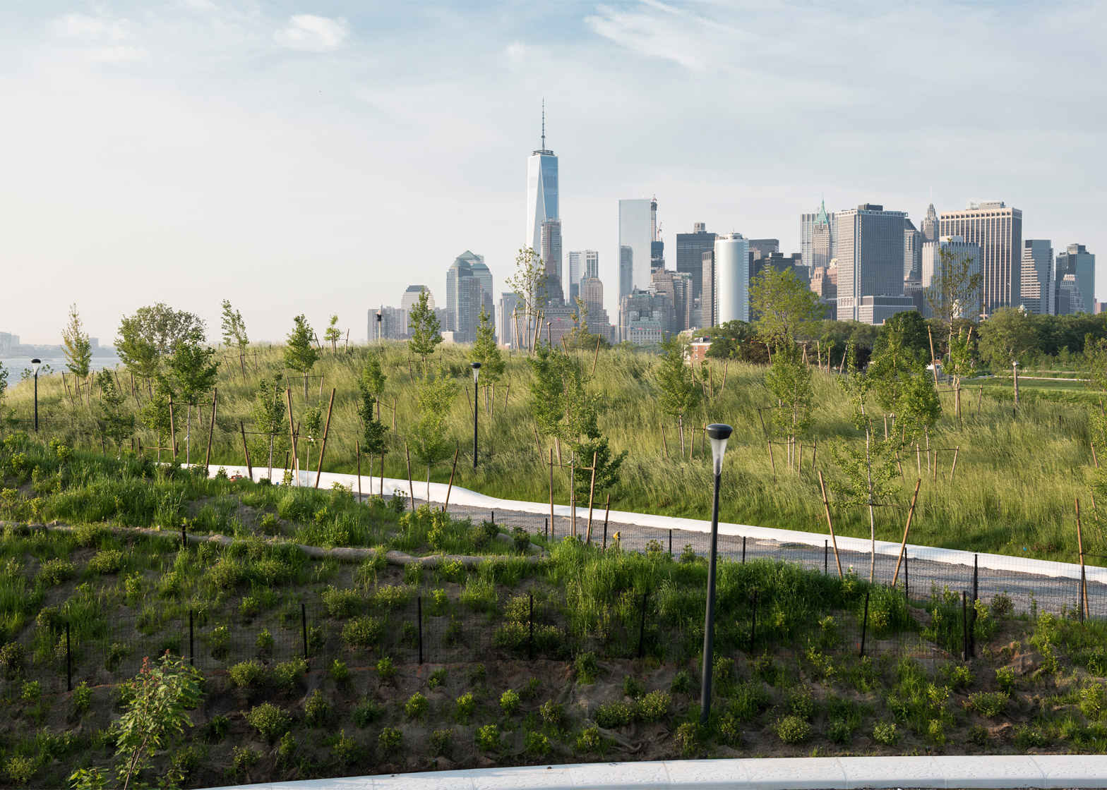 The Hills on Governors Island by West 8
