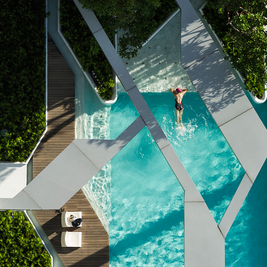 10 of the best rooftop swimming pools on Dezeen