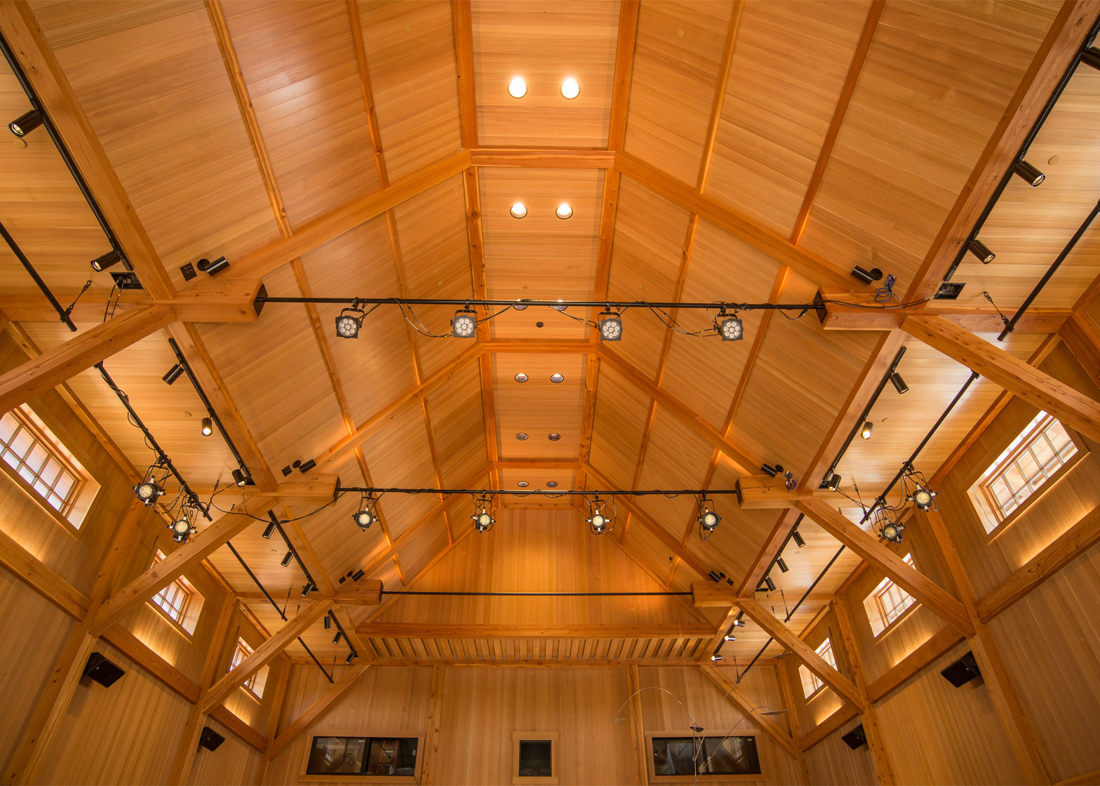 The Olivier Music Barn at Tippet Rise Arts Centre