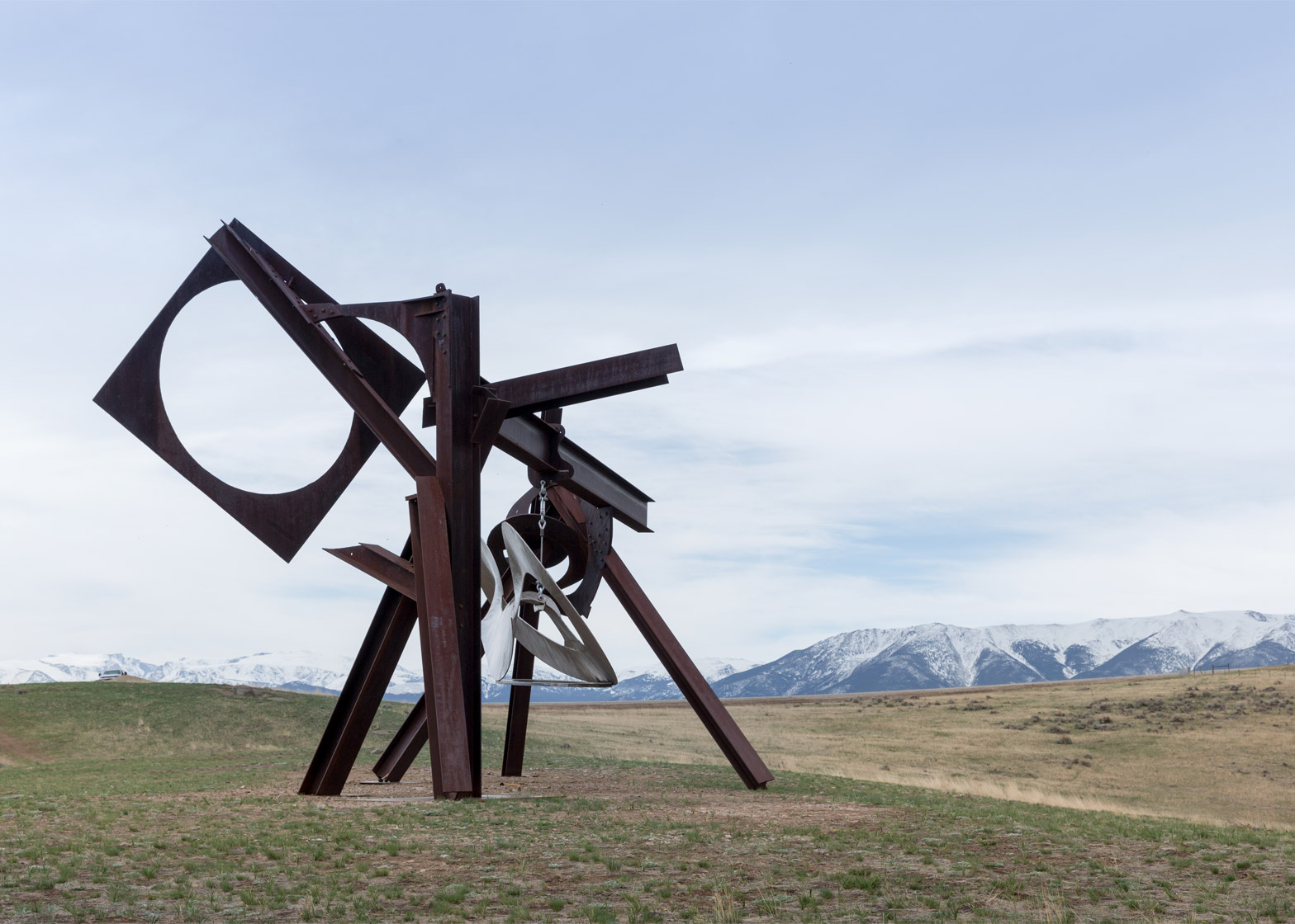 Beethoven's Quartet by Mark di Suvero