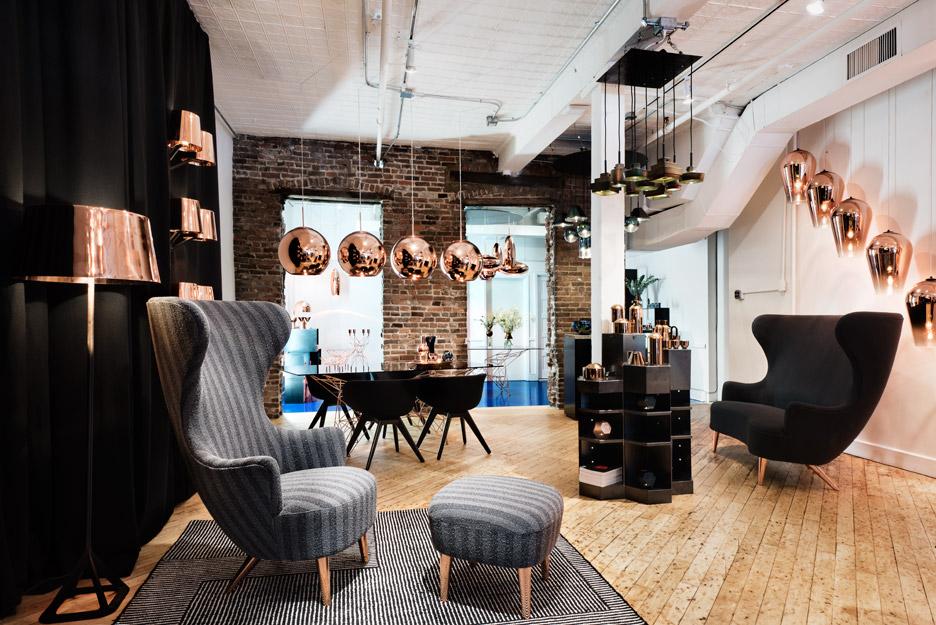 Tom Dixon's new store on Howard Street in SoHo
