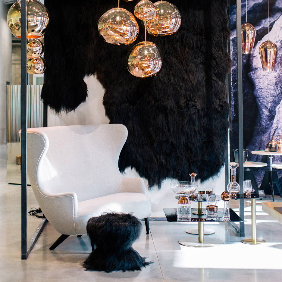 Tom Dixon's first store in Los Angeles