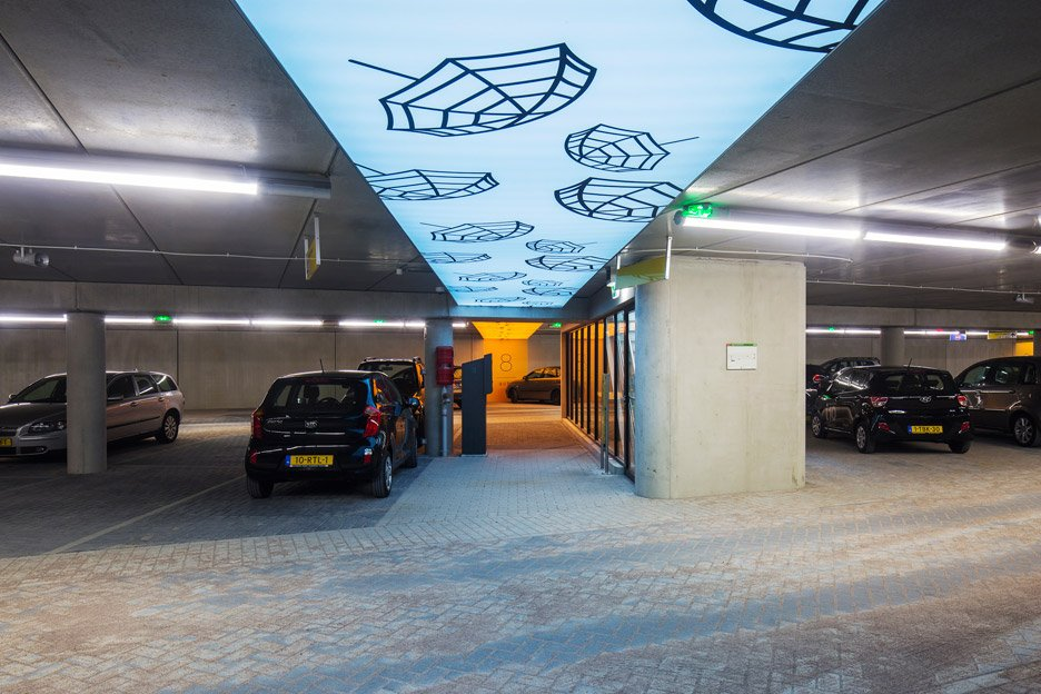 Underground Parking Garage by RoyalHaskoning DHV in Amersfoort
