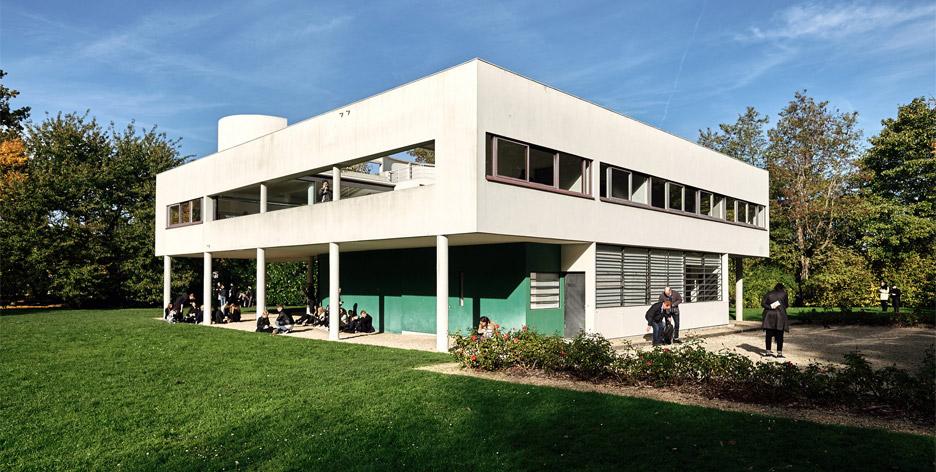 Le Corbusier\'s Villa Savoye encapsulates the Modernist style