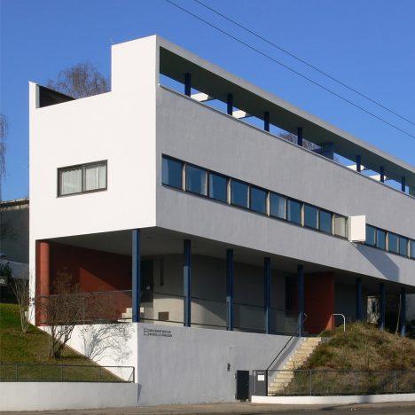 Le Corbusier's Weissenhof Estate in Stuttgart was part of a Modernist housing exhibition