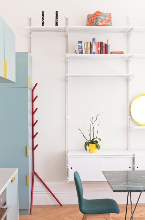 Architecture studio Nimtim renovate a Victorian terrace in London into a space saving apartment