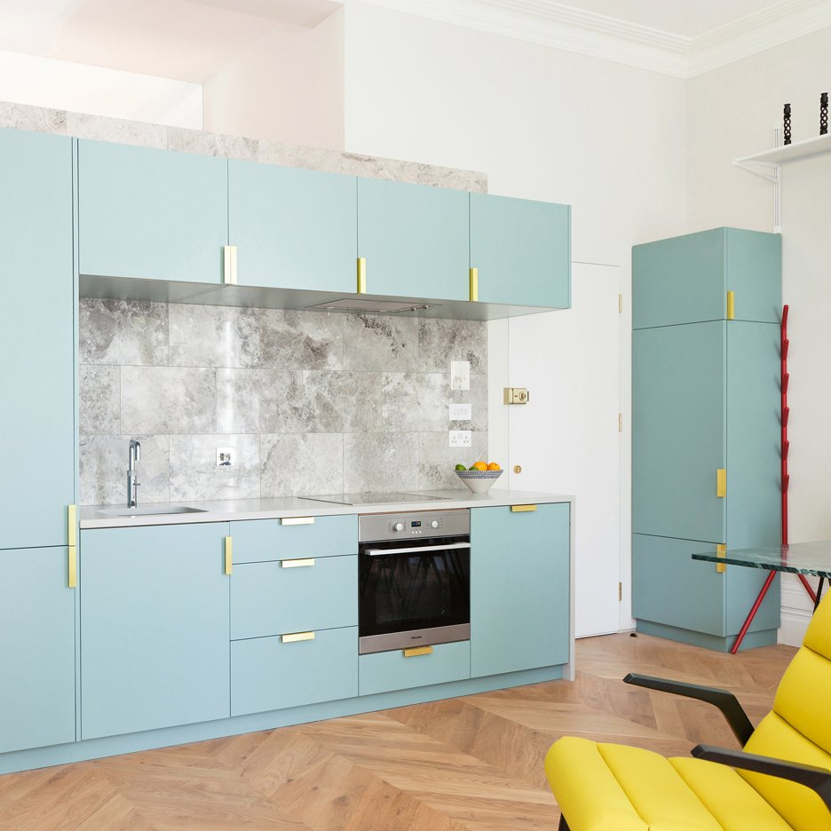 ... Architecture studio Nimtim renovate a Victorian terrace in London into  a space saving apartment