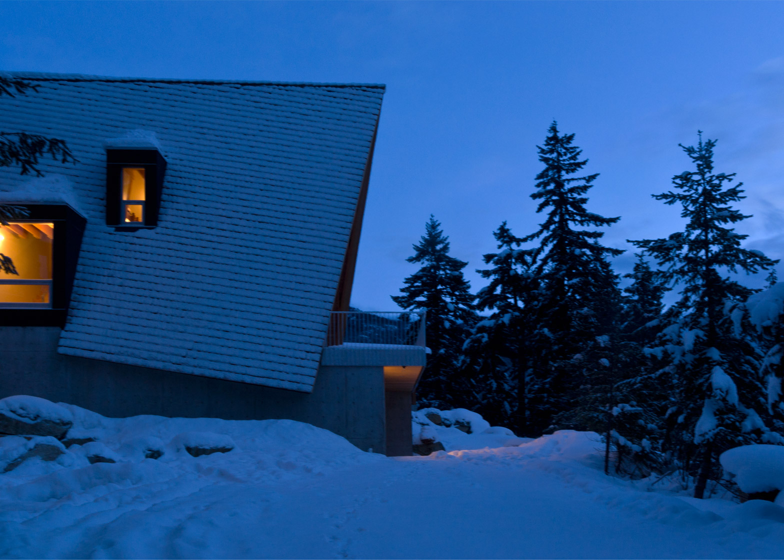 Whistler Cabin, Canada, by Scott and Scott