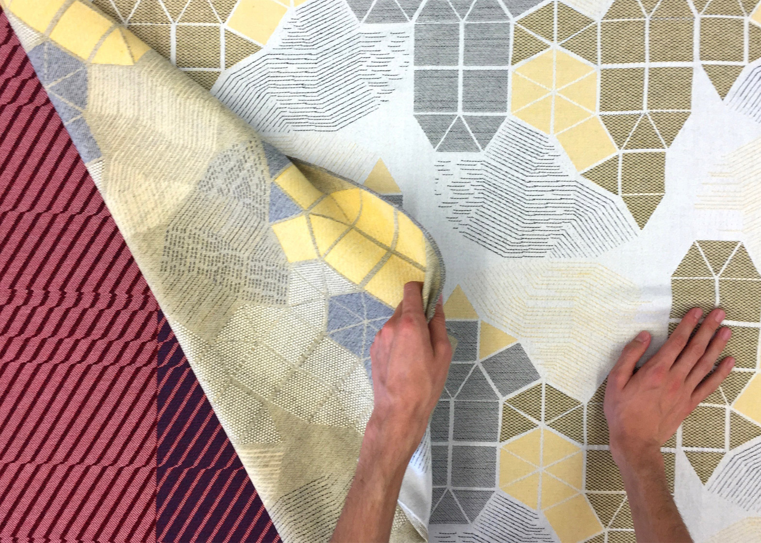 Wovns platform turns digital designs into Jacquard fabric