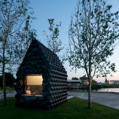 DUS Architects builds 3D-printed micro home in Amsterdam