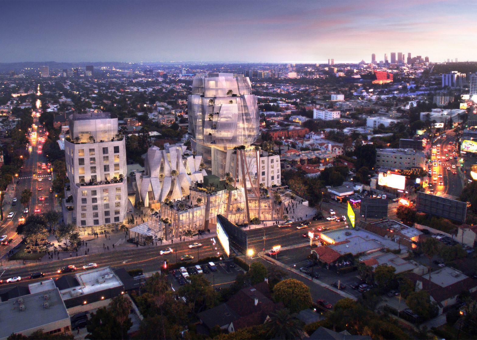 8150 Sunset Boulevard by Gehry Partnership, LLP