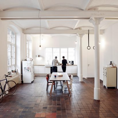 IFUB renovates shared apartment in an old chocolate factory in Berlin