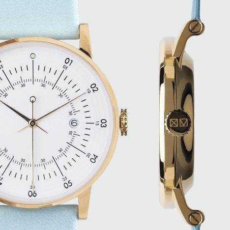 Squarestreet's slimmest watch yet launches at Dezeen Watch Store