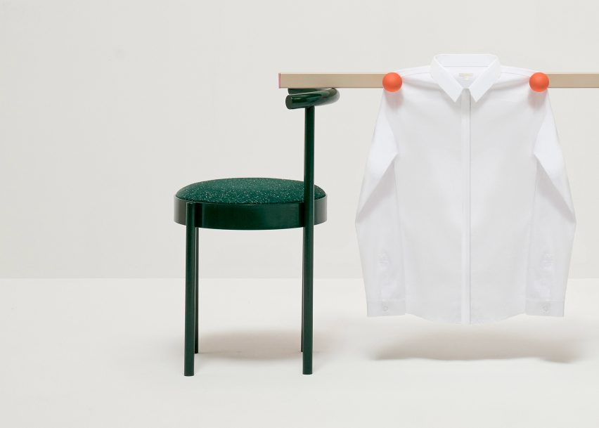 COS and Daniel Emma emphasise the classic white shirt with set of installations