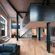 Sadie Snelson converts London warehouse into photographer's home and studio