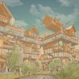 "Matt Lucraft proposes solution to London's housing crisis with ""mad-cap"" building system"