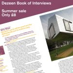 Summer sale! Last chance to buy Dezeen Book of Interviews for just £8