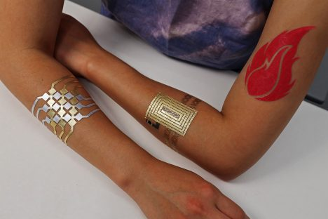 DuoSkin temporary tattoos can remotely control devices