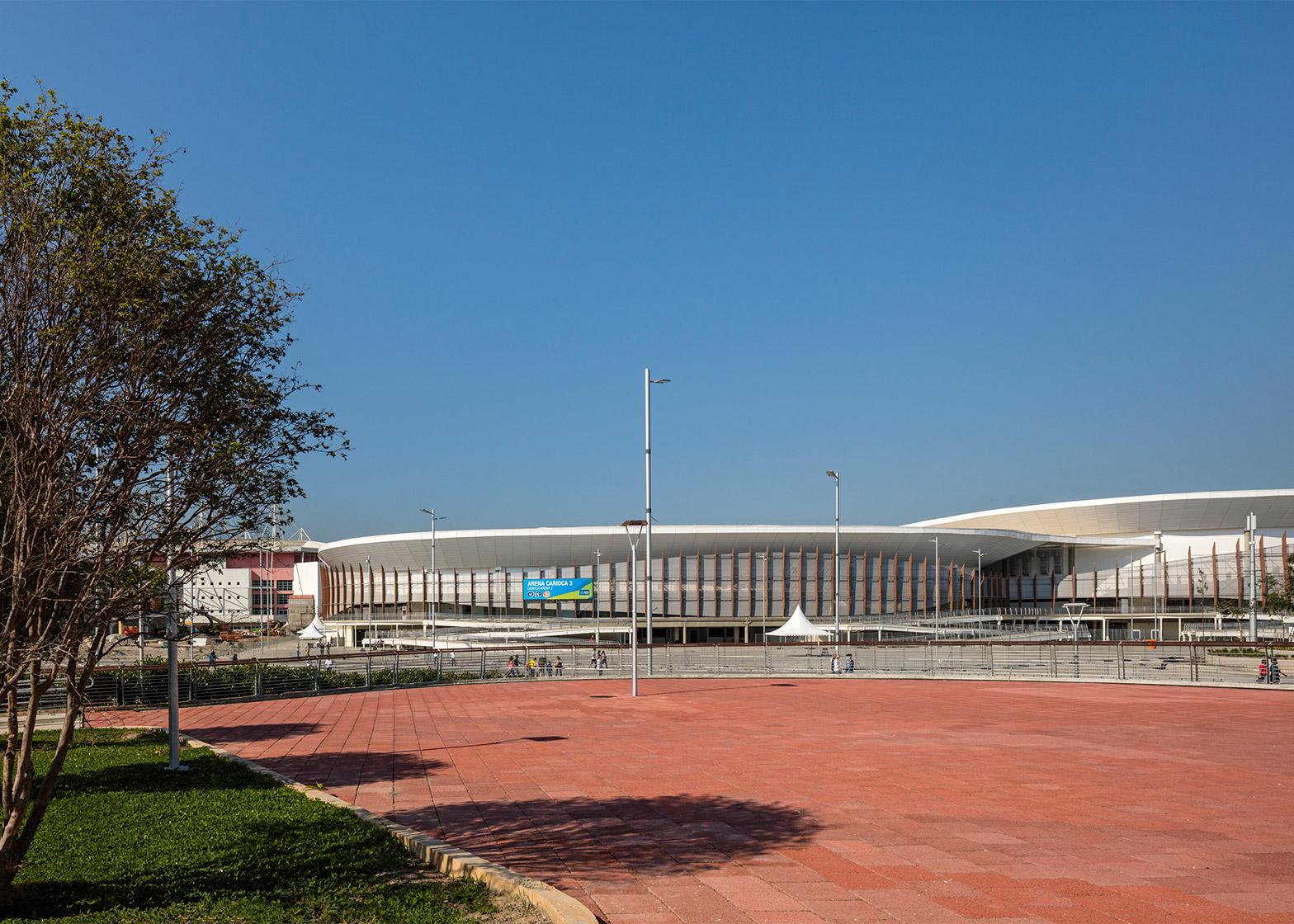 Arena Carioca, Barra Olympic Park, by Arqhos Consultoria e Projetos