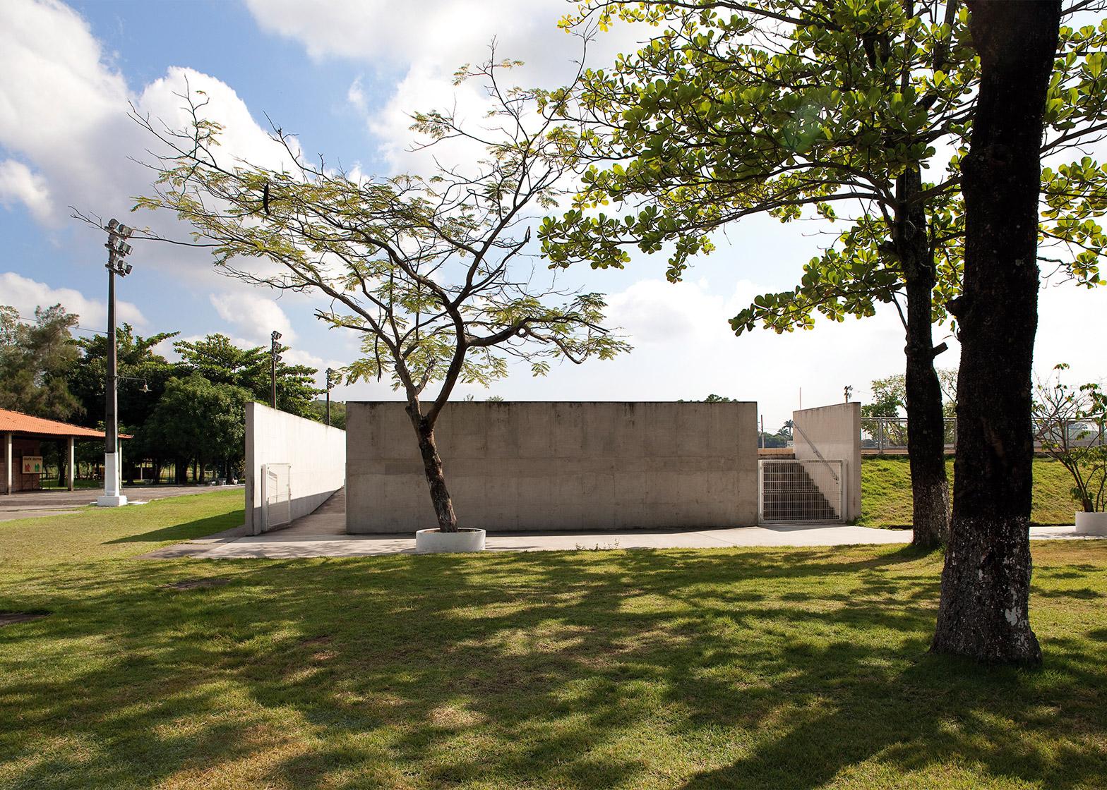 Modern Pentathlon arena, Deodoro Olympic Park, by BCMF Arquitetos, Bruno Campos, Marcelo Fontes and Silvio Todeschi