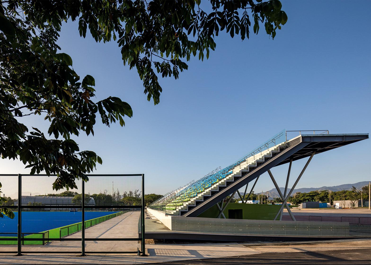 Olympic Hockey Centre, Deodoro Olympic Park, by Vigliecca & Associados