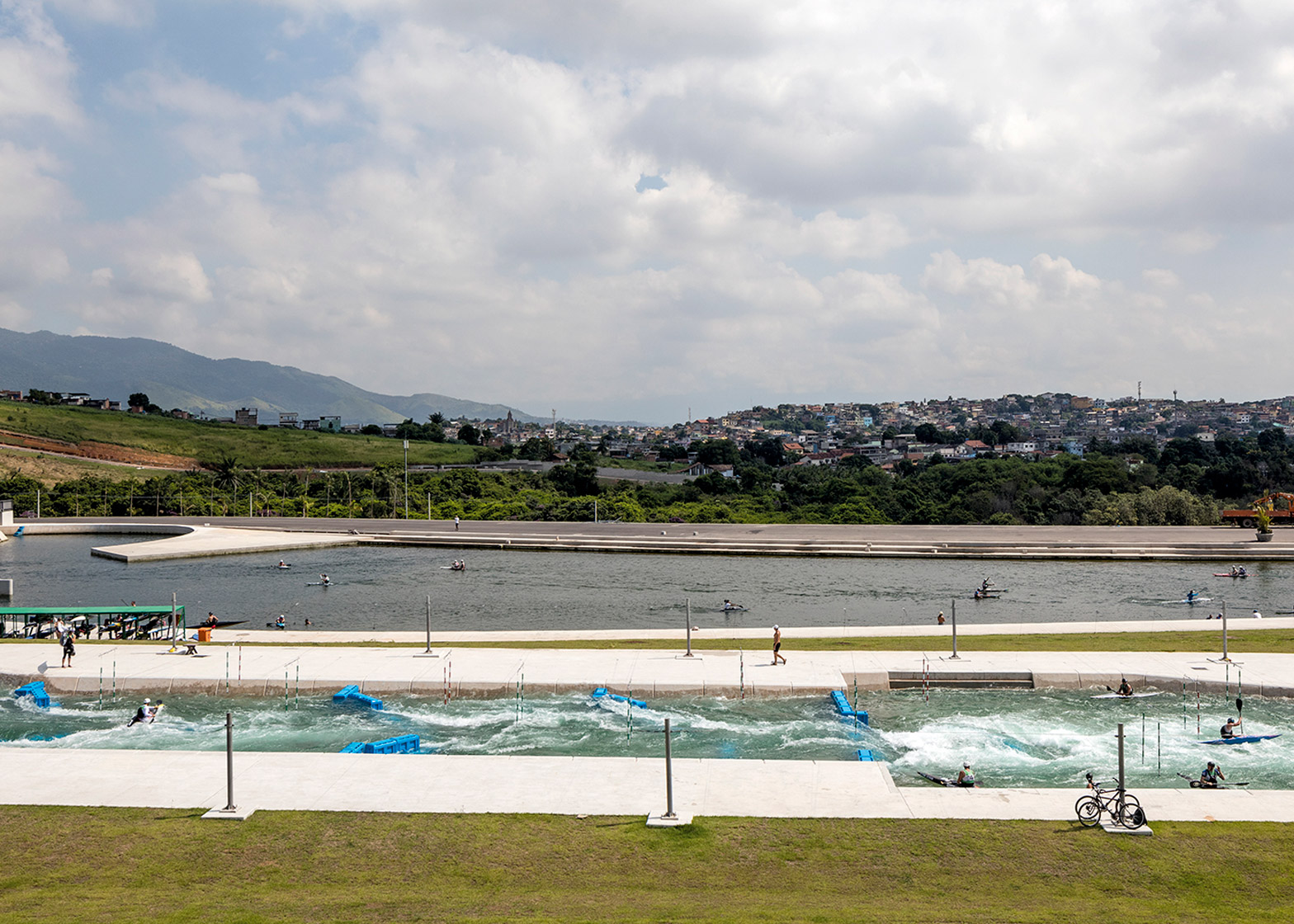 Canoe Slalom course, Deodoro Olympic Park, by Vigliecca & Associados