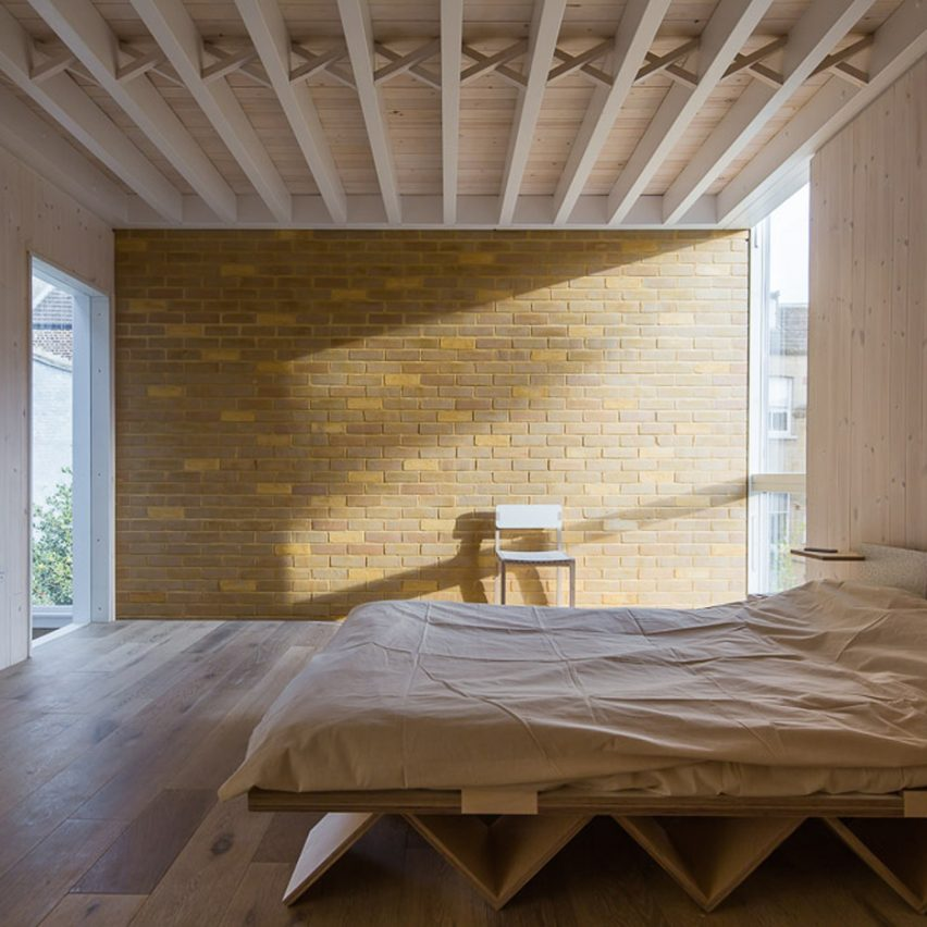 Top 10 bedrooms on Dezeen's Pinterest