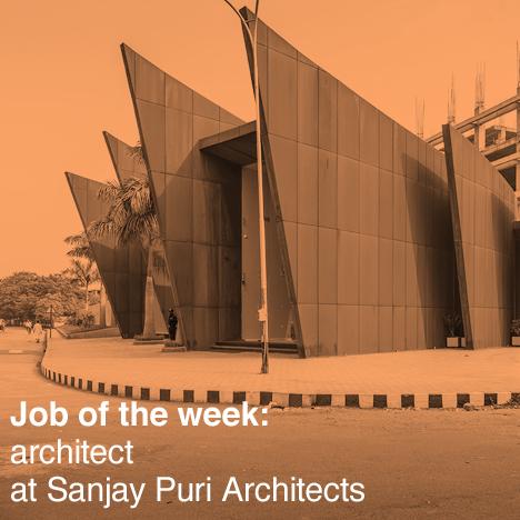 Dezeen job of the week: Sanjay Puri Architects