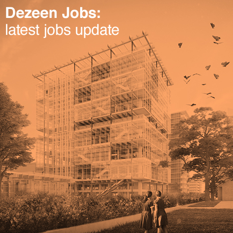 Dezeen Jobs architecture and design recruitment jobs update Grimshaw