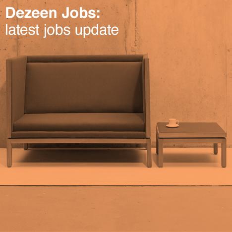 Dezeen architecture and design recruitment SCP jobs update