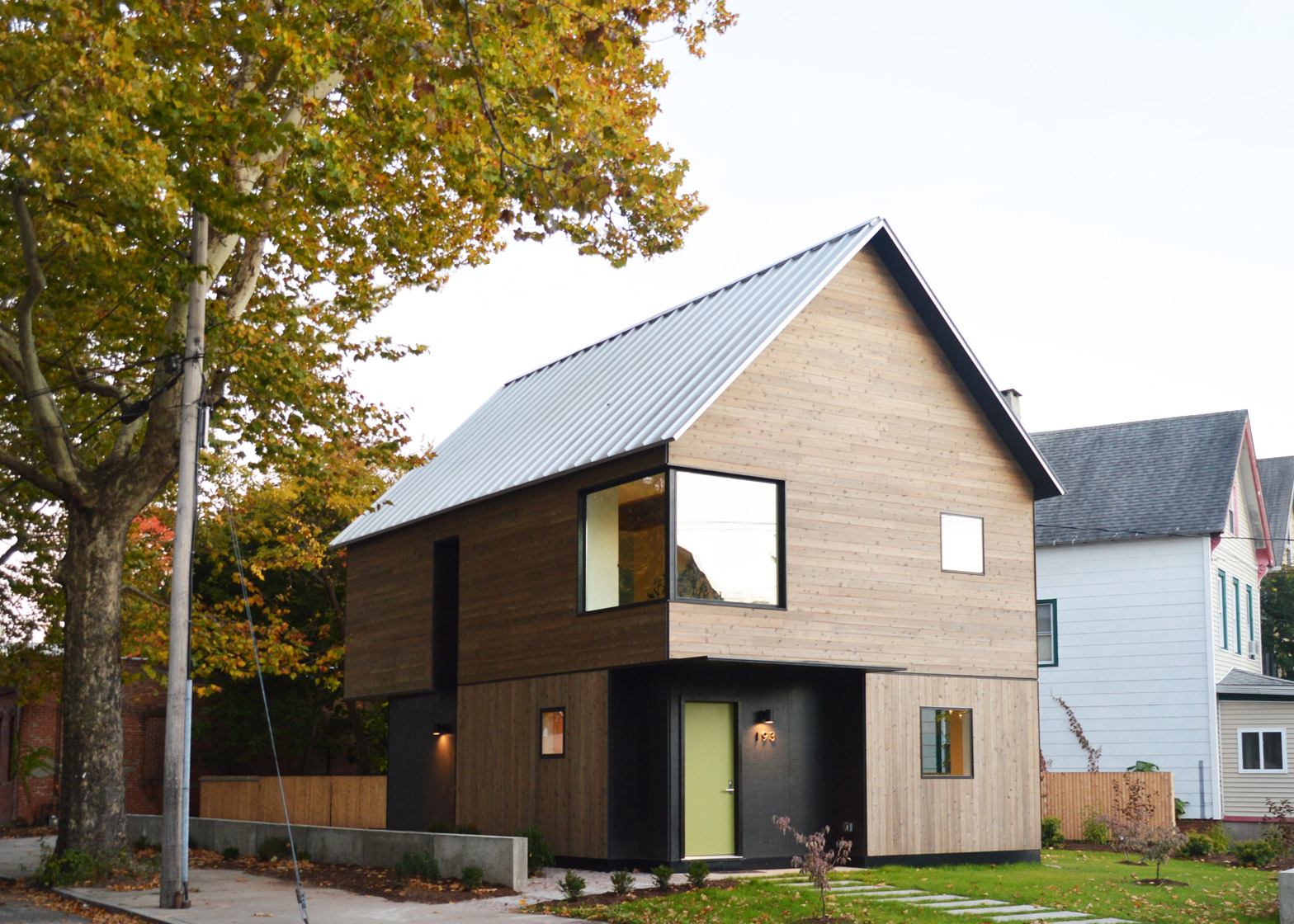 Affordable House in New Haven by Yale Architecture students