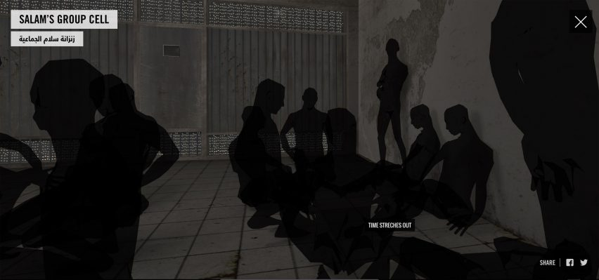 "Forensic Architecture create digital reconstruction of an ""architectural instrument of torture"""