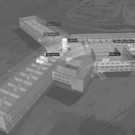 "Forensic Architecture forms digital reconstruction of Syrian ""architectural instrument of torture"""