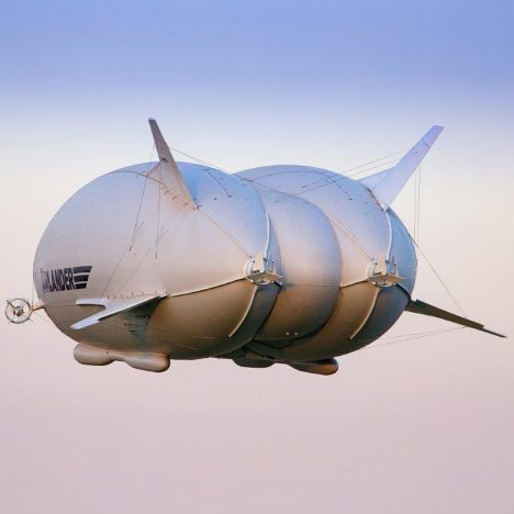 "Gigantic ""Flying Bum"" plane takes to the skies"