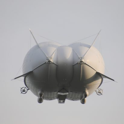 "World's biggest aircraft ""the Flying Bum"" crashes on test flight"