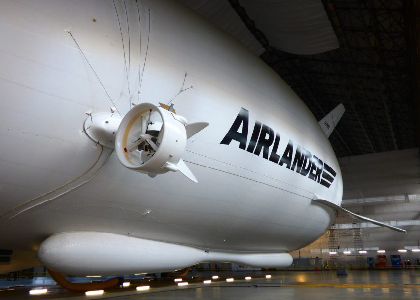 World's largest aircraft leaves its hangar for first time