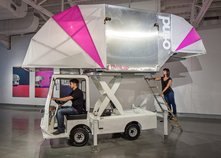 Aero-Mobile by Office of Mobile Design, a Jennifer Siegal company. Photograph by Tom Kessler