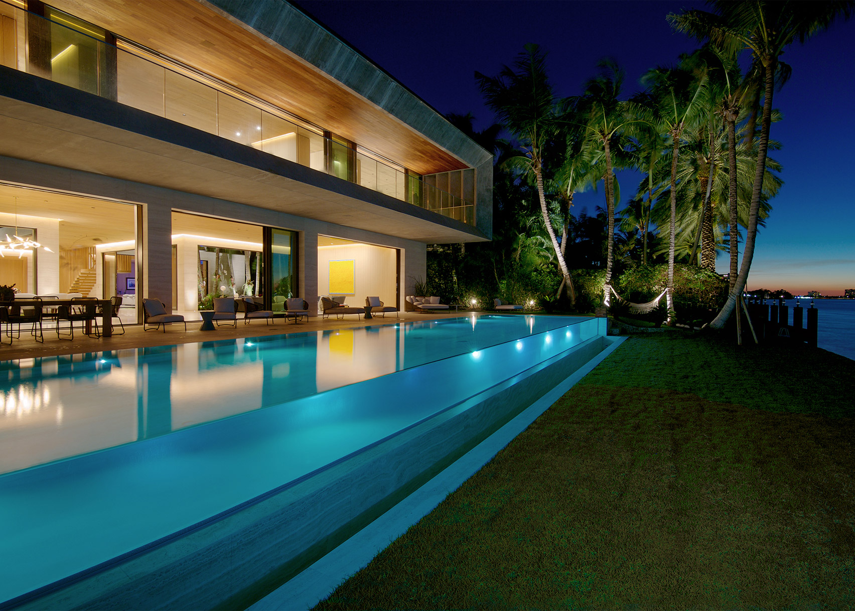 Bal Harbour House by Chad Oppenheim, FAIA of Oppenheim Architecture in Bal Harbour, Florida. Photograph by Karen Fuchs