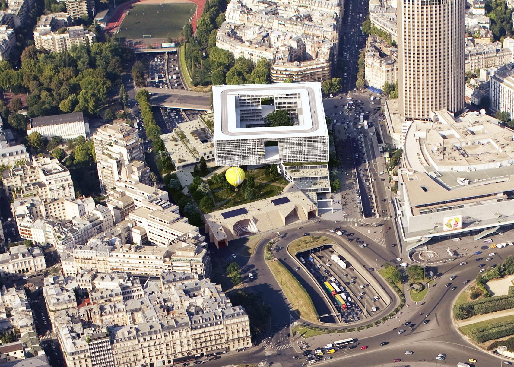 Pershing Paris by Clément Blanchet Architecture in Paris, France