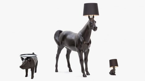 Front's lifesize Horse Lamp for Moooi was a provocative experiment