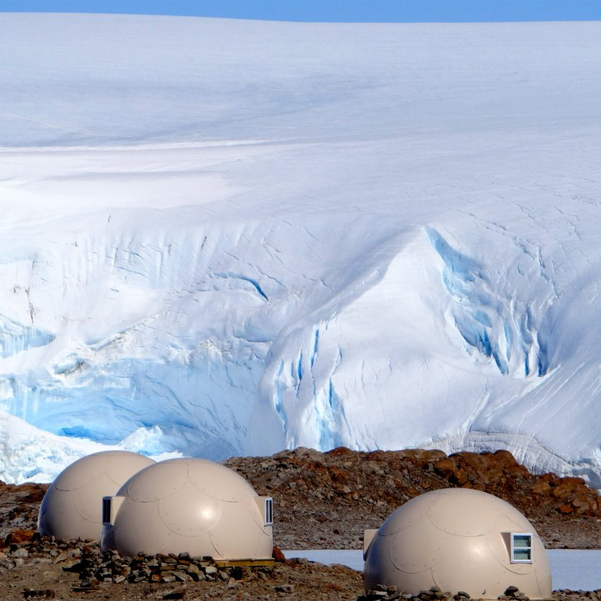 Best remote hotels: Antarctica Glamping Pods by White Desert