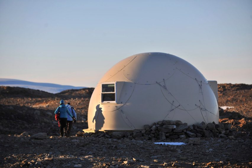 Antarctica Glamping Pods by White Desert