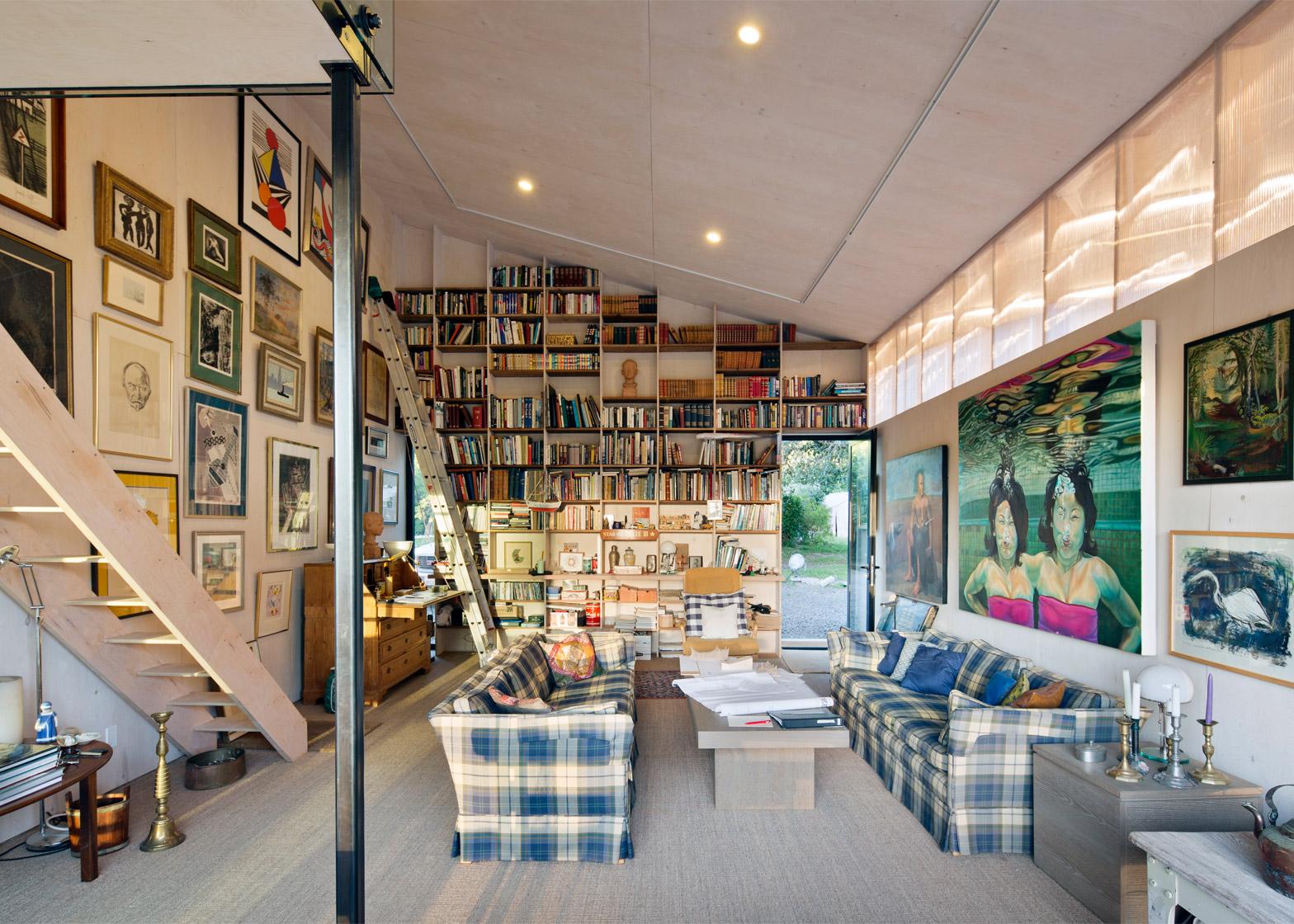 Artist Studio by Mork Ulnes Architects