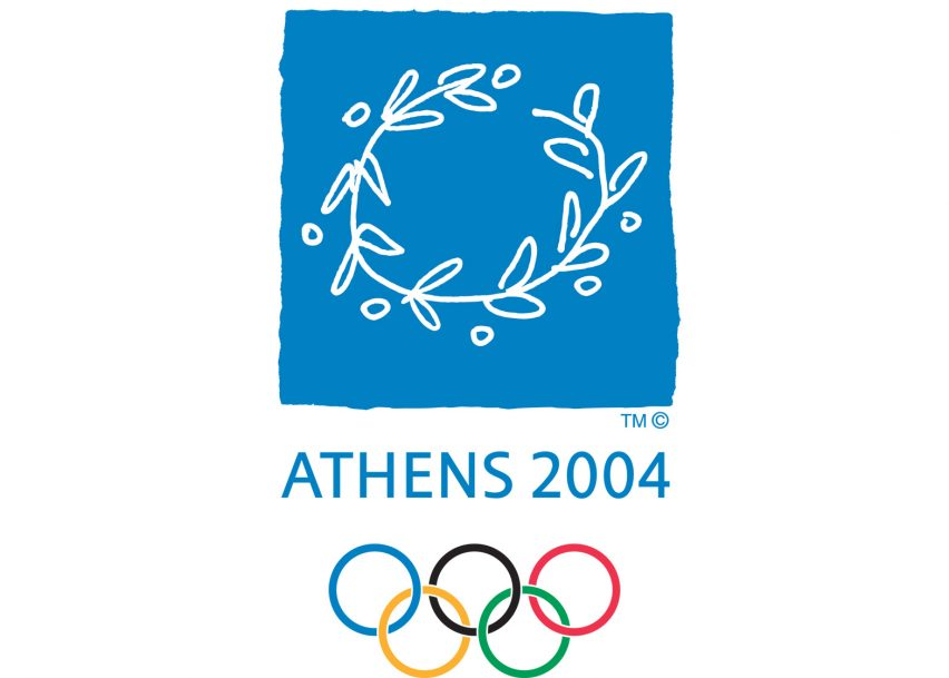 Logo of the 2004 Athens Olympics