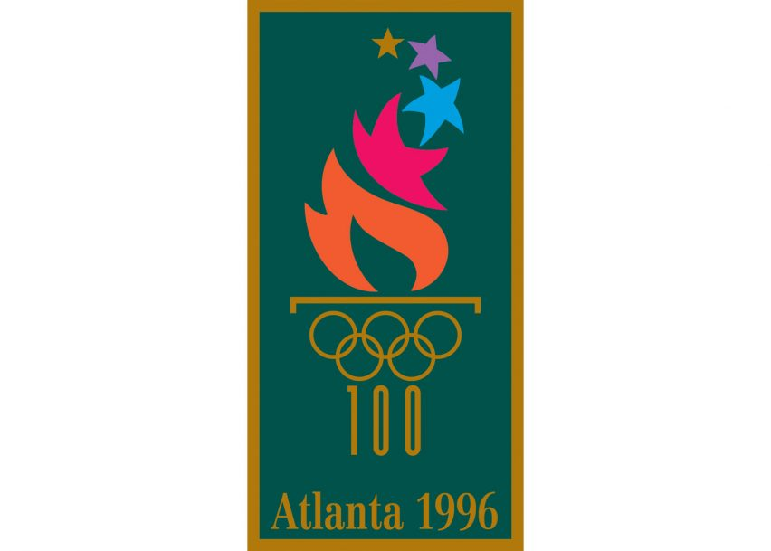 Logo of the 1996 Atlanta Olympics