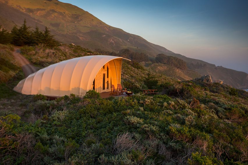 Autonomous Tents luxury camping structures