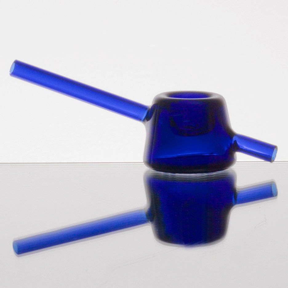 Jamie Wolfond designs minimal glass smoking pipe for Tetra