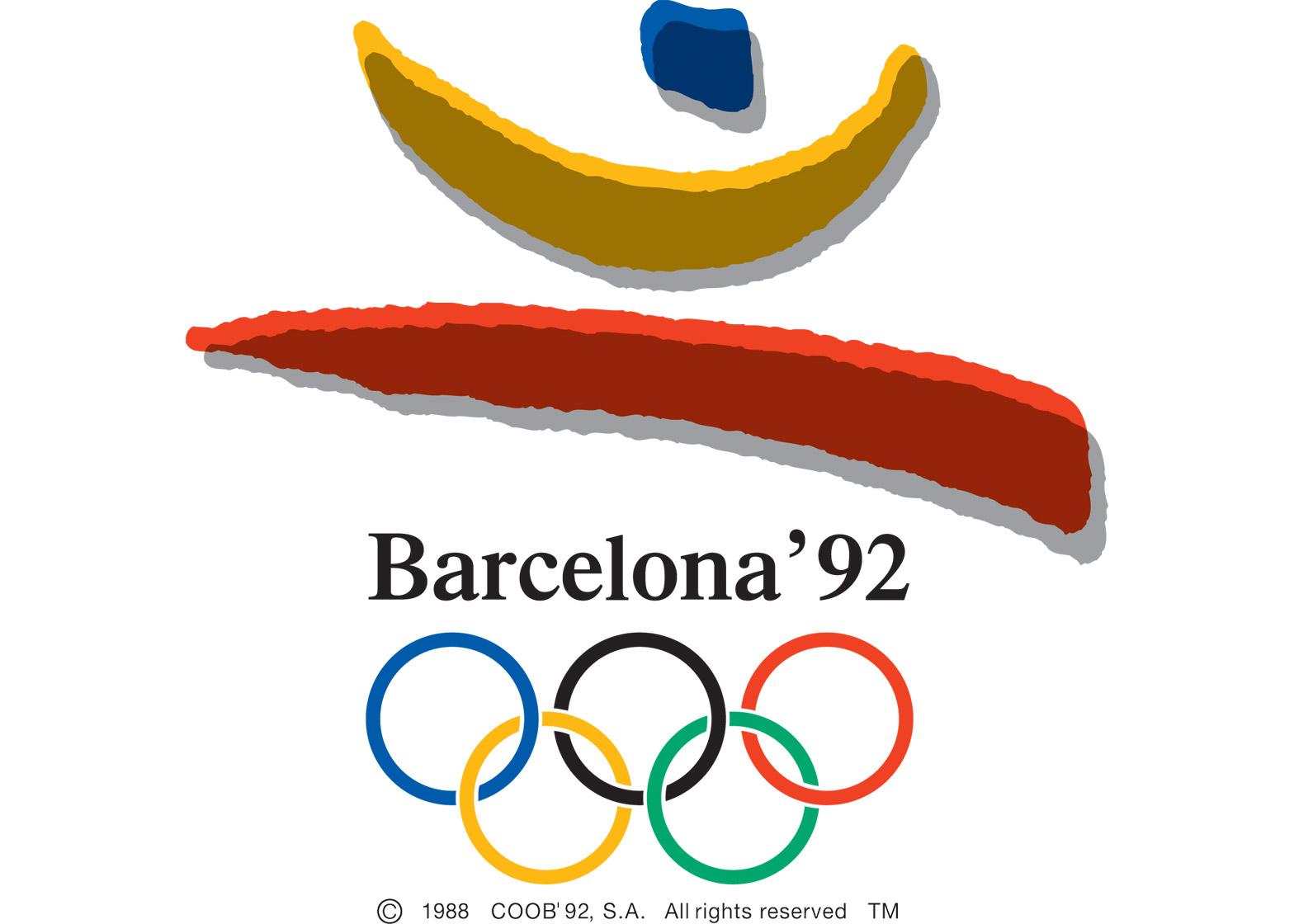 Logo of the 1992 Barcelona Olympics